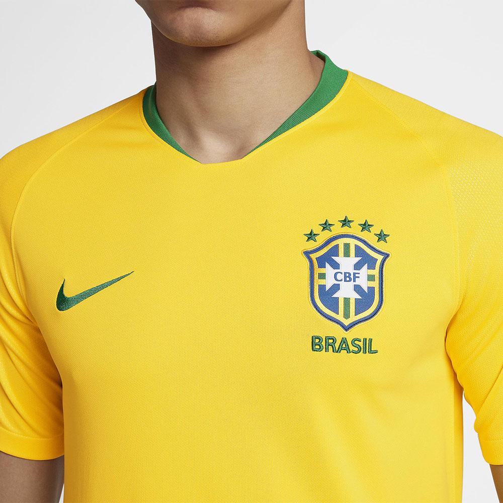 Camisa Nike CBF Seleção Brasil I 2018 19 Torcedor e1d76ff7057fc