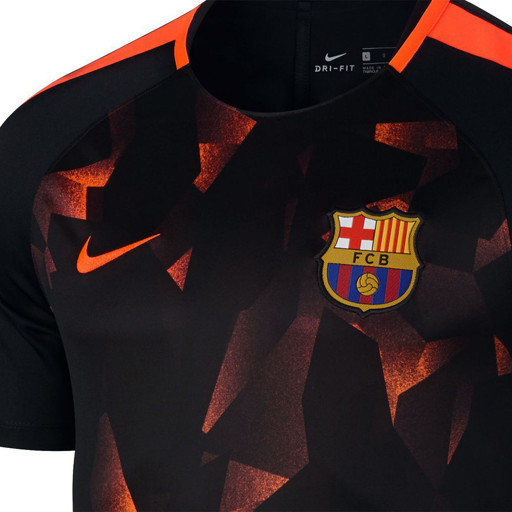 Camisa Nike Manga Curta Barcelona Football Top 3