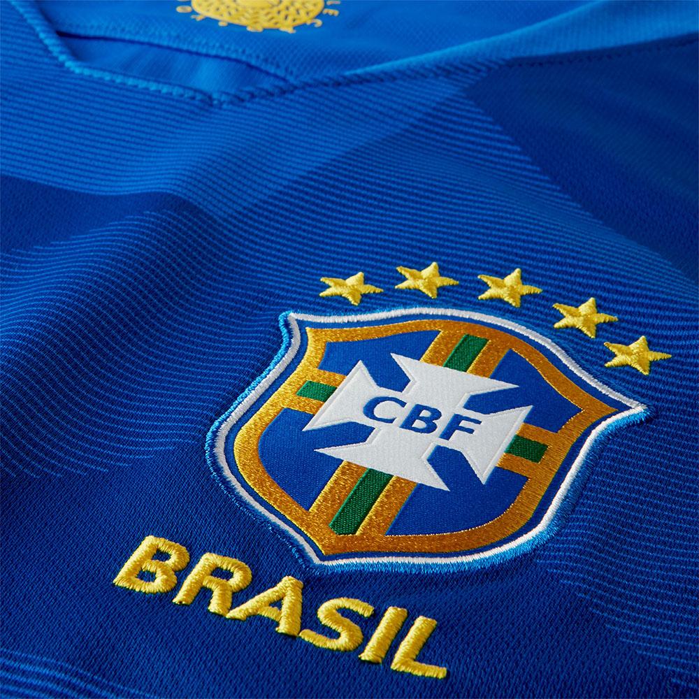 Camisa Nike CBF Seleção Brasil Torcedor 2018 b774bd57c48