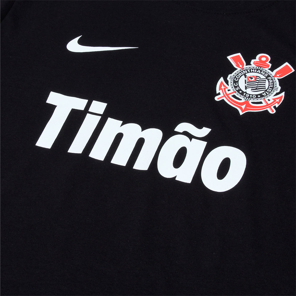 Camiseta Nike Manga Curta Corinthians Core 3