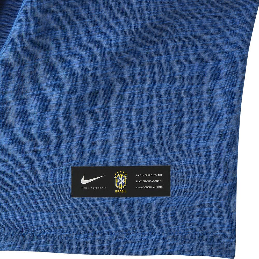 ef8e5f42ab6ef Camiseta Nike Dry CBF Brasil Concentração 2018