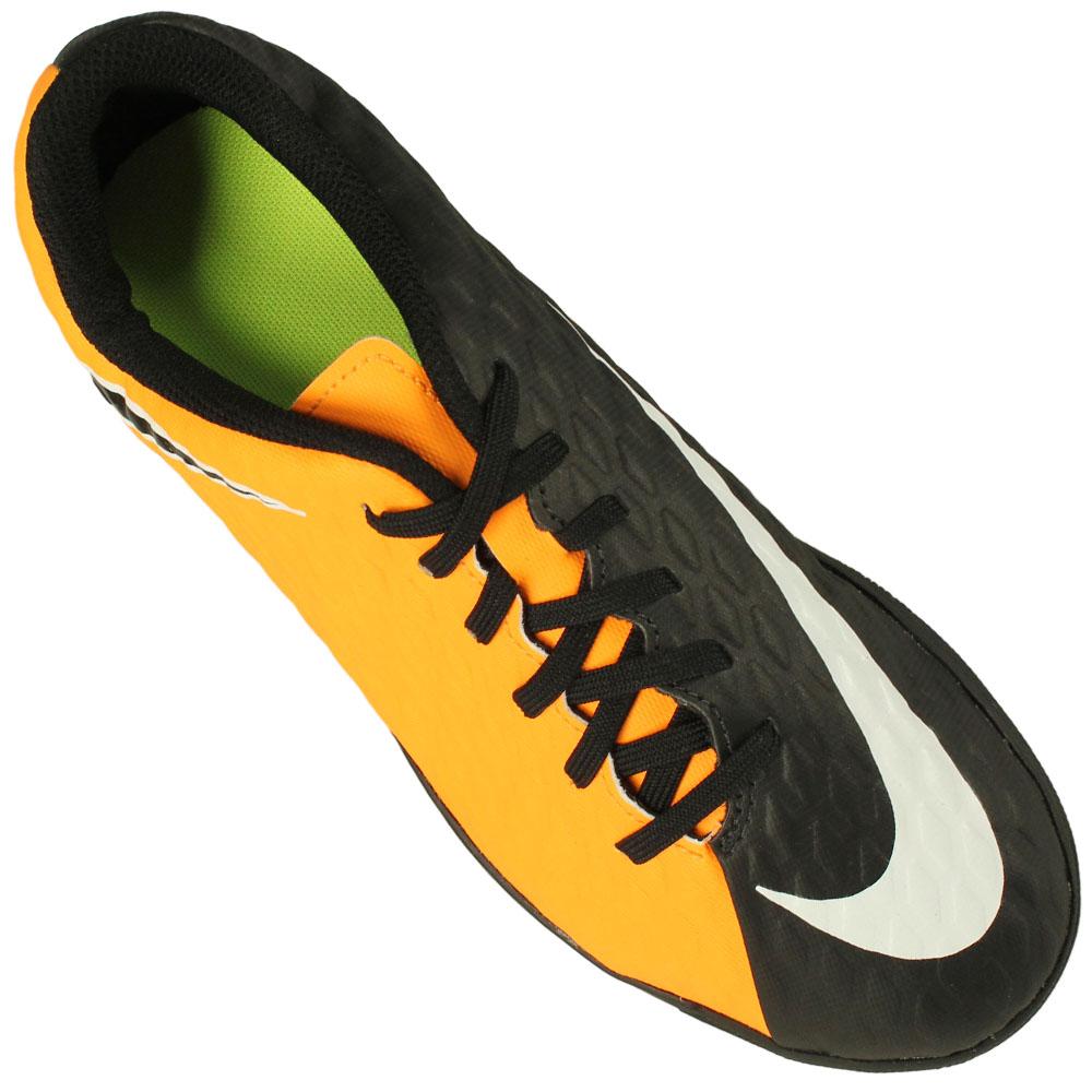 Chuteira Futsal Nike Hypervenom Phade III Ic Juvenil 995b375f9cb82