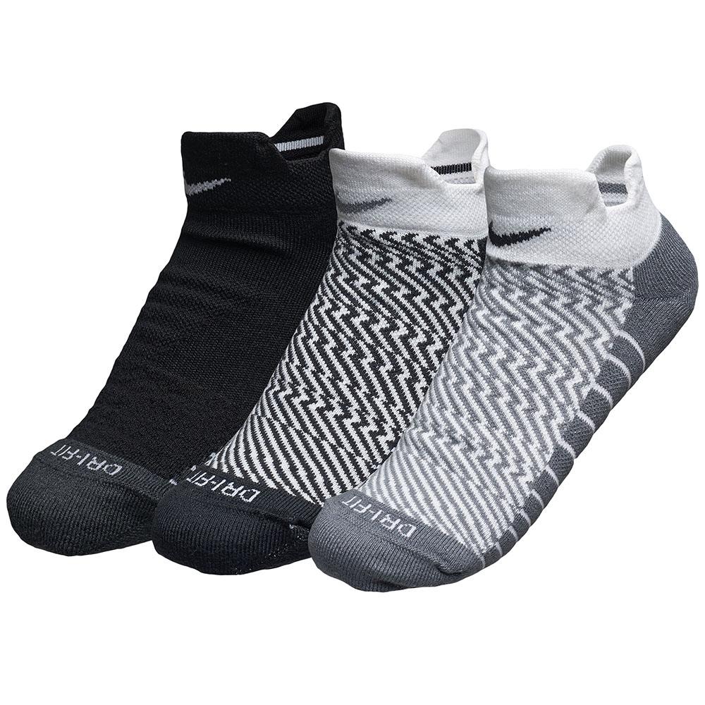 Kit 3 Meias Nike Cano Baixo Dri-fit Cushion