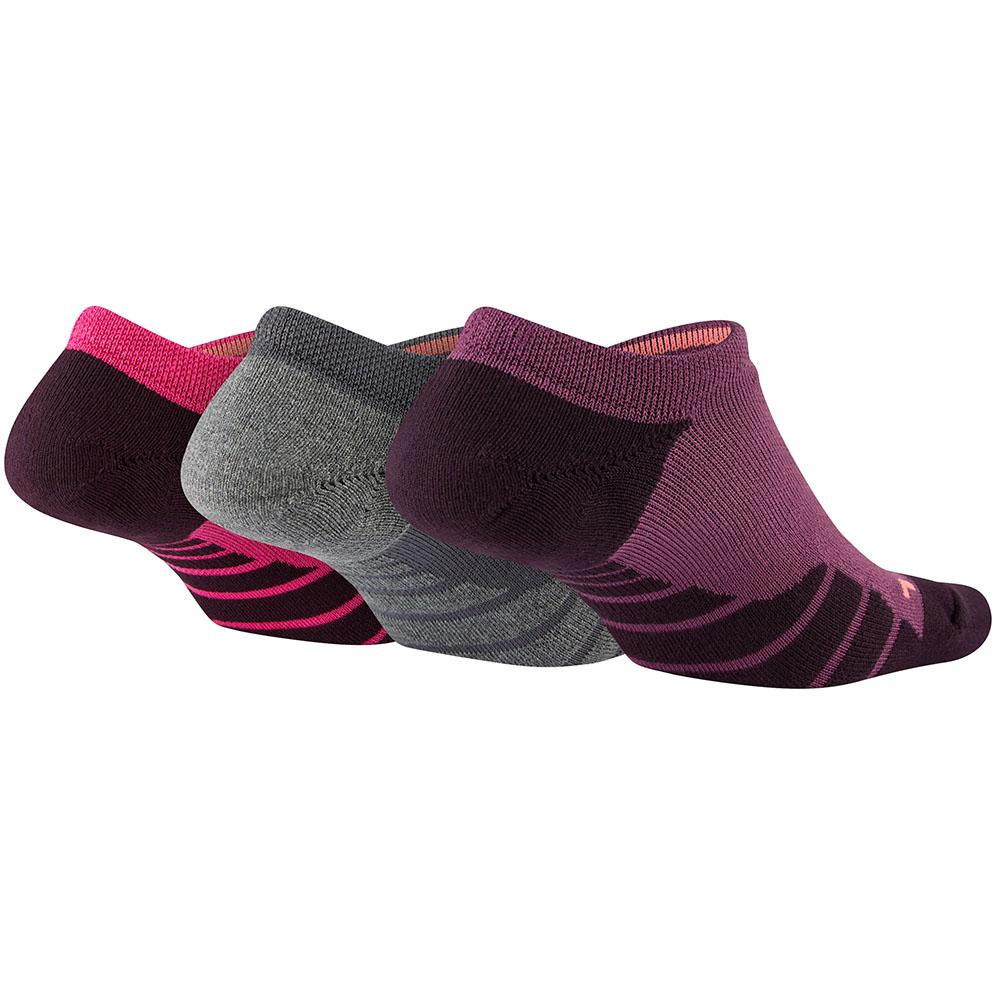 Kit 3 Meias Nike Cano Invisivel Dry Cushion No Show 2