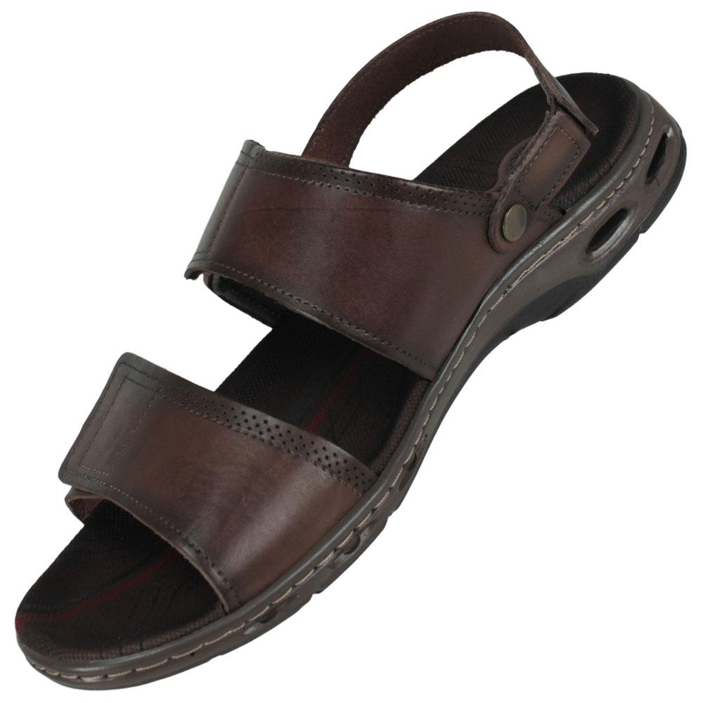 Sandália Masculina Pegada Confortável Pinhão 2