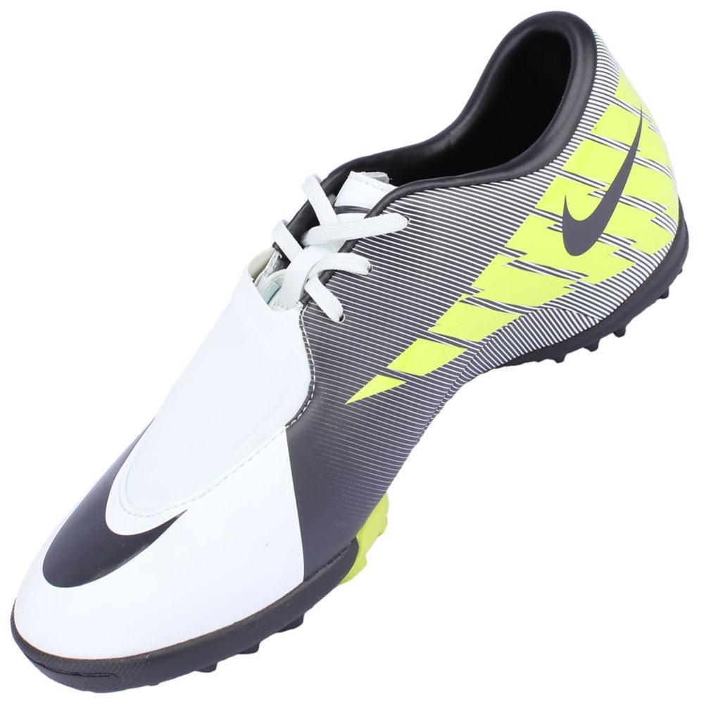 Chuteira Society Nike Mercurial Glide 2 TF Masculino Laranja Preto ... a797c33dcfe43