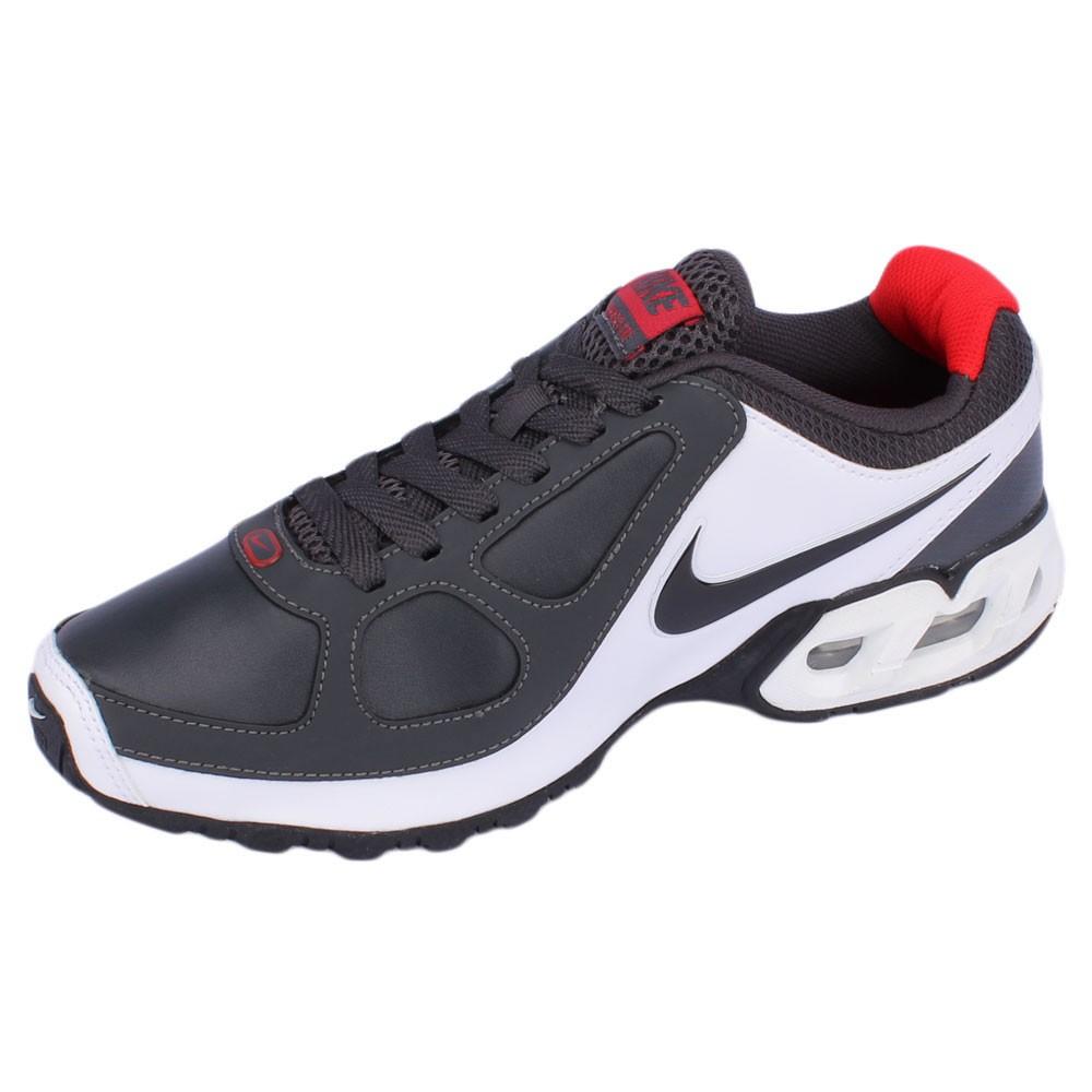 4b28ea83830 Tênis Nike Air Max LTE SL EMB Masculino Branco Prata Vermelho Preto ...