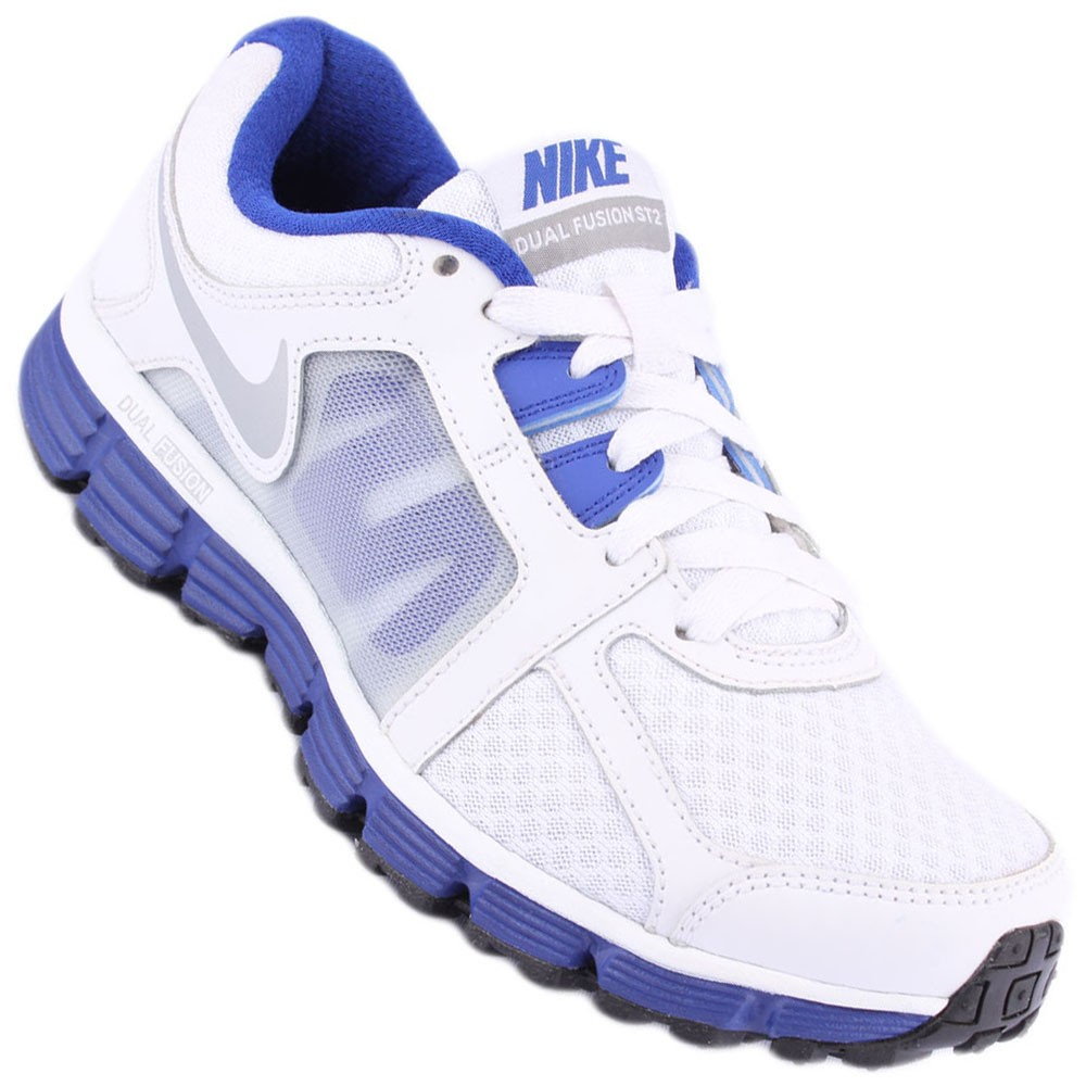 341ca25005d Tênis Nike Dual Fusion ST 2 Feminino Branco Rosa 454240-105