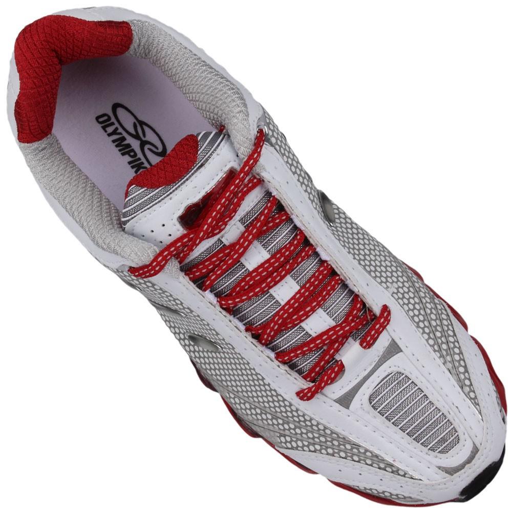 9ba22cd61 Tênis Olympikus Oss Masculino Branco Vermelho 721BCOVRM