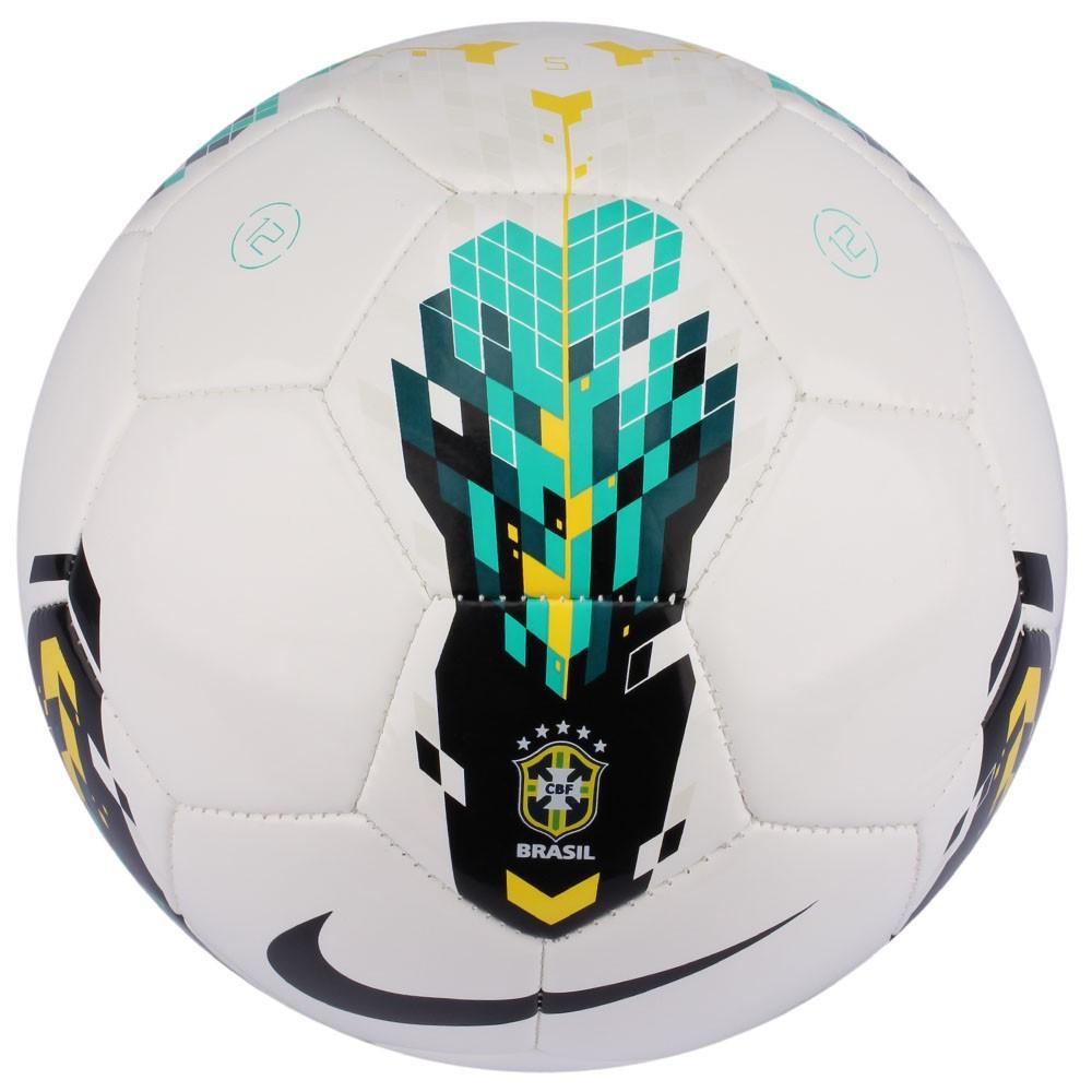 d994357f4bf96 Bola Campo Nike Strike Cbf Branco Verde Preto
