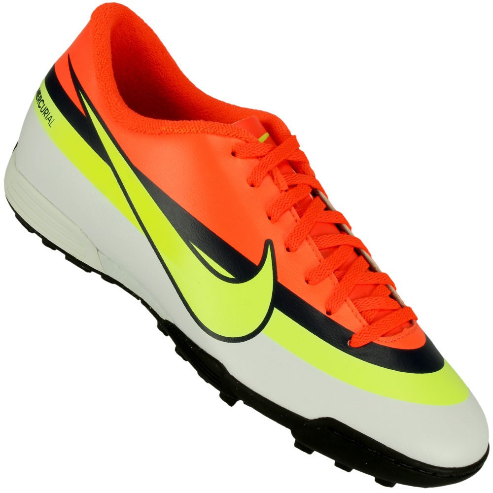 Chuteira Society Nike Mercurial Vortex CR TF f418c9e6d33c4