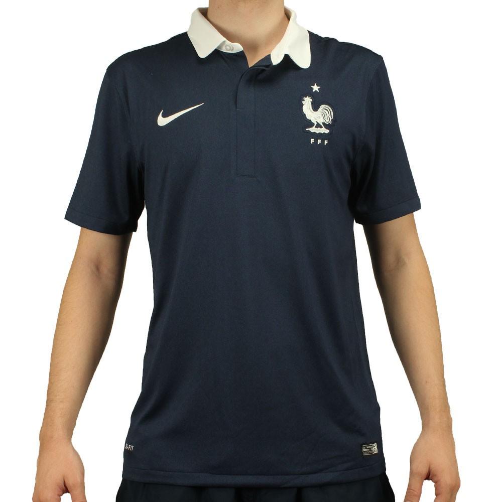 660d3f000e3e0 Camisa Nike Seleção França Home 2014