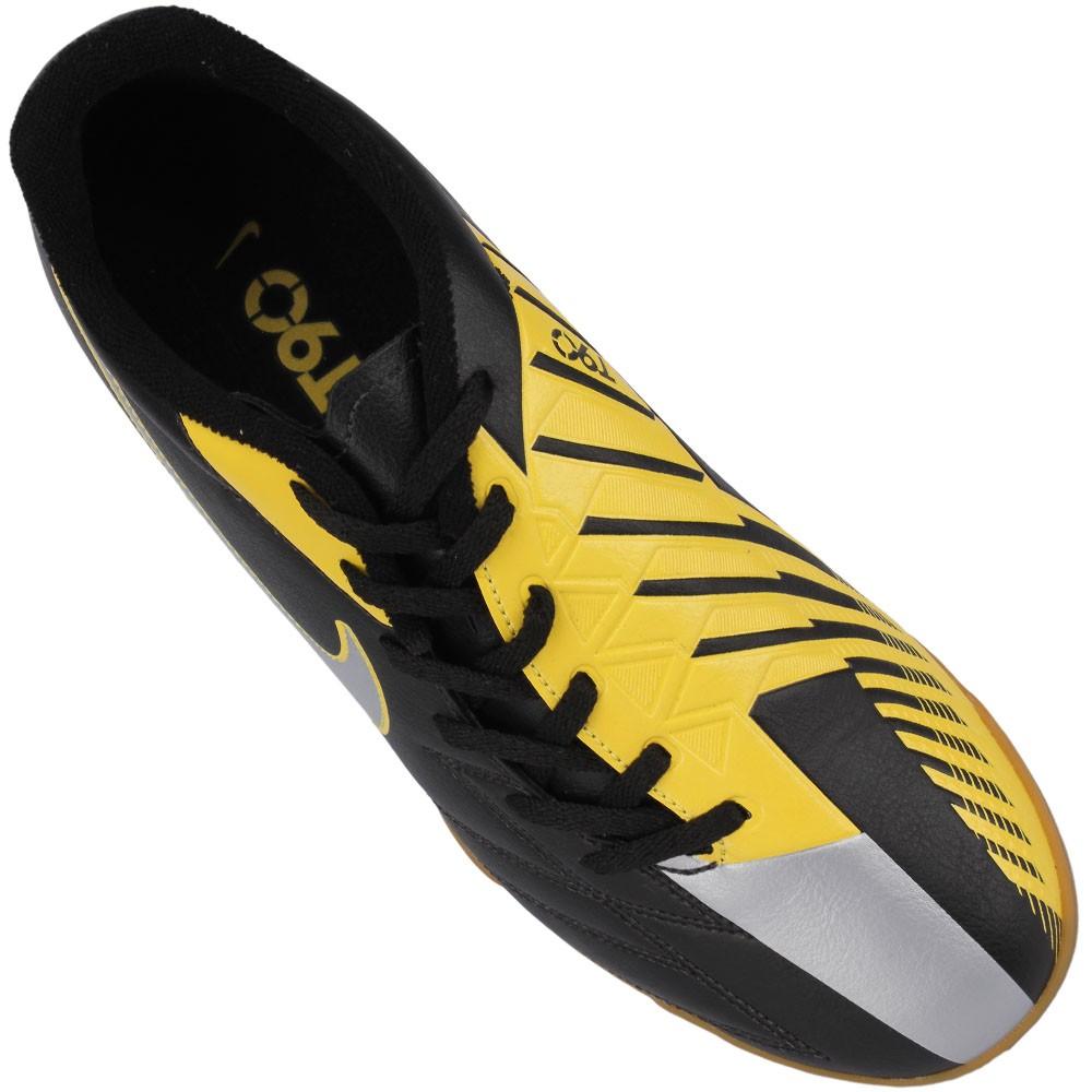 f719e9a583 Chuteira Futsal Nike Total 90 Exacto 4 IC Masculino Vermelho Chumbo ...