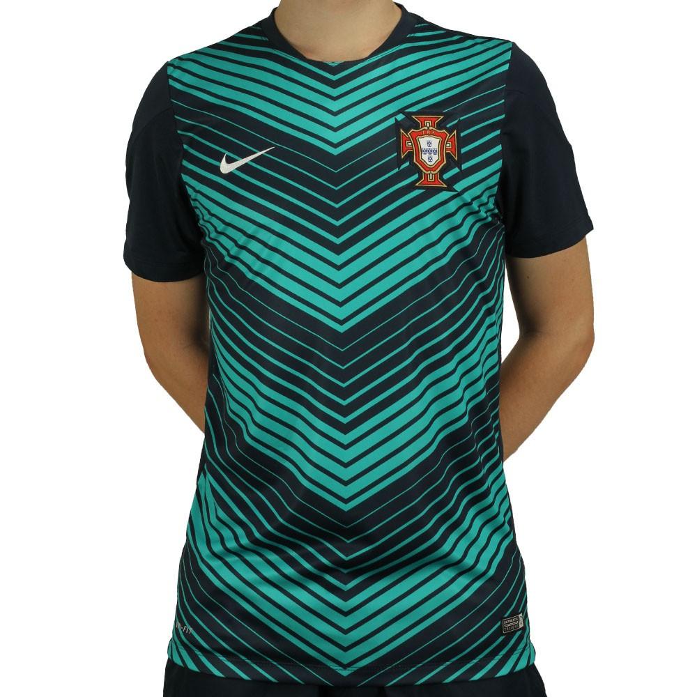 Camisa Nike Seleção Portugal Pre Match 2014 9094d9b813d7d
