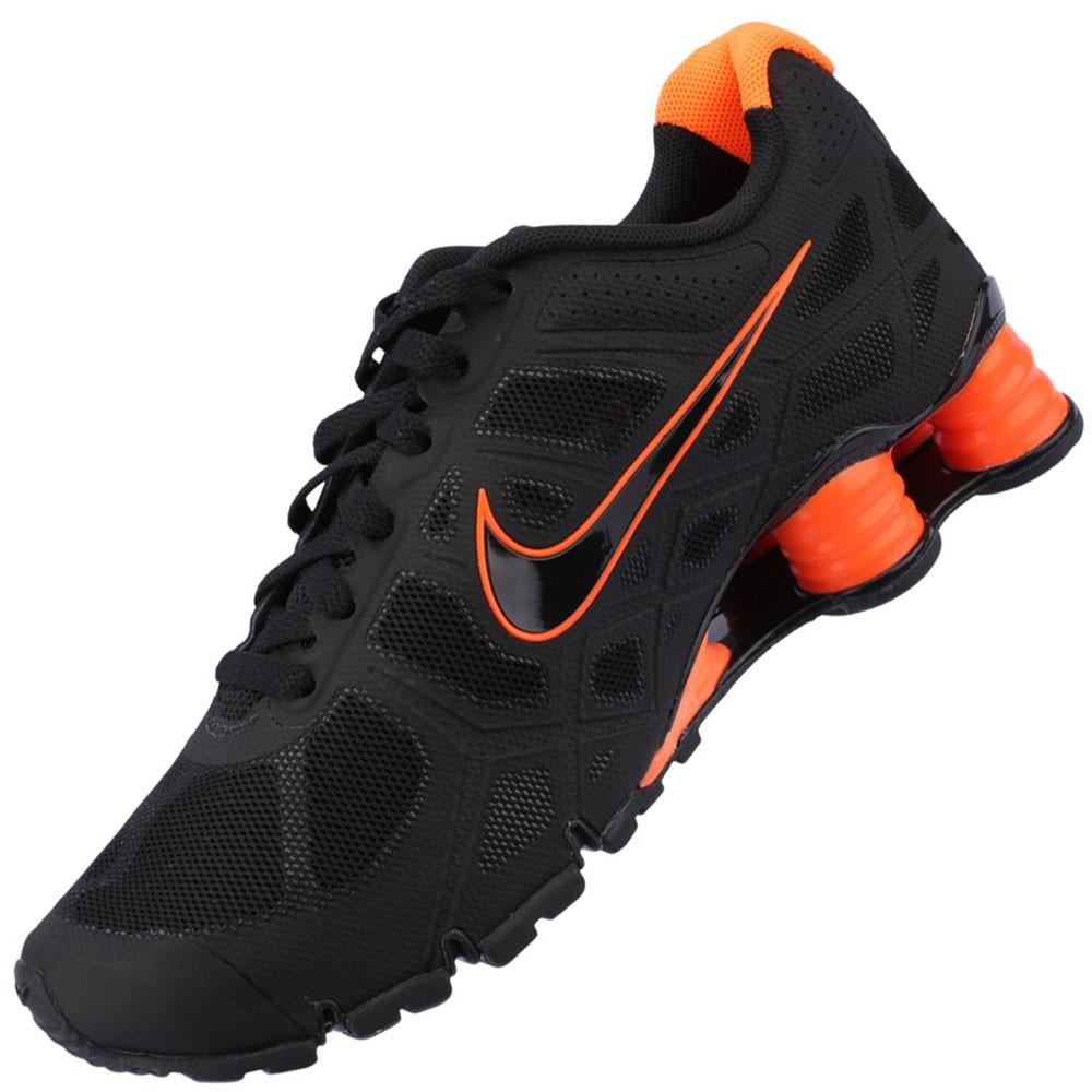 7bfde914656 Tênis Nike Shox Turbo+ 12 Masculino Branco Vermelho Preto 454166-101