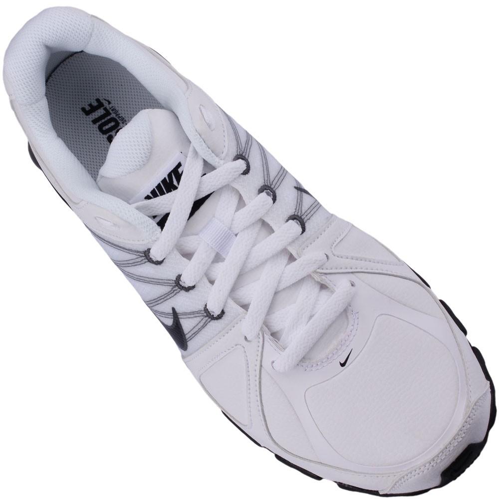 845d49353 Tênis Nike Shox Agent SL Masculino Branco Chumbo 510959-101