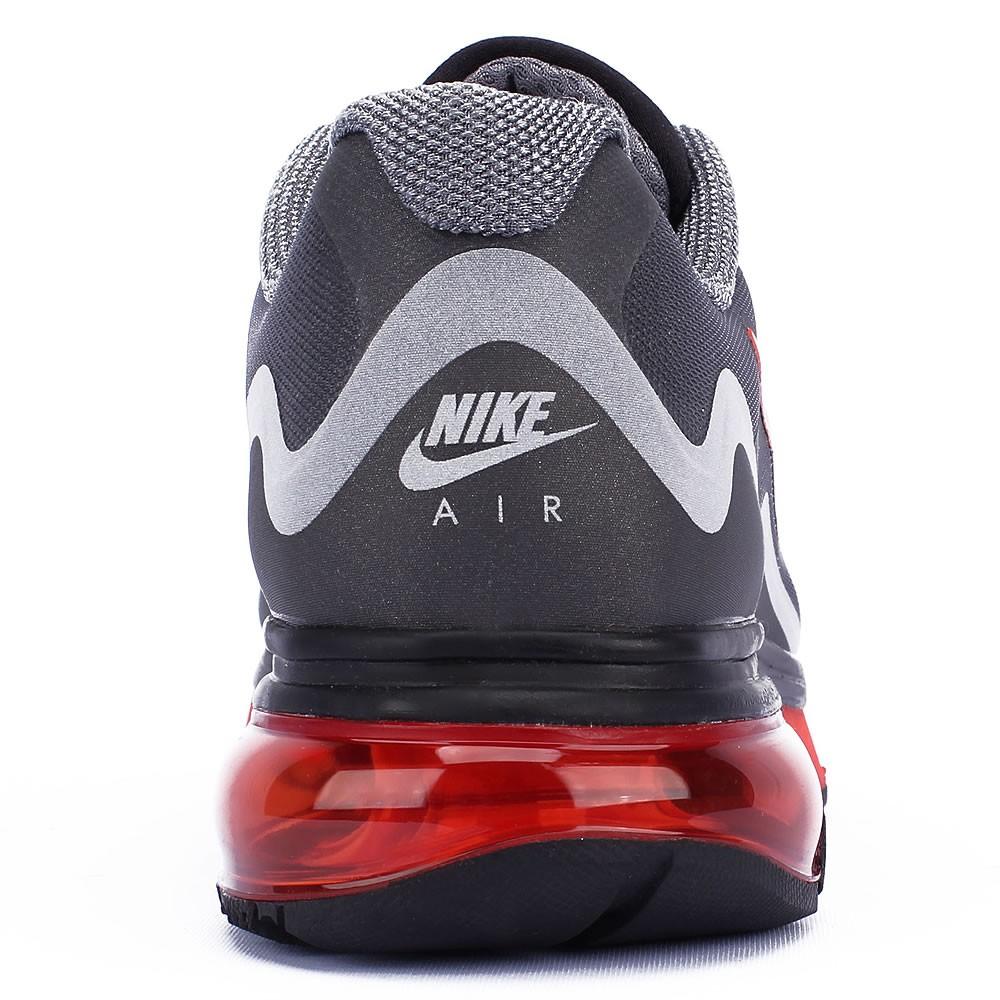 3317137906 Tênis Nike Air Max Alpha 2011+ Masculino Preto Laranja Prata 454347-080