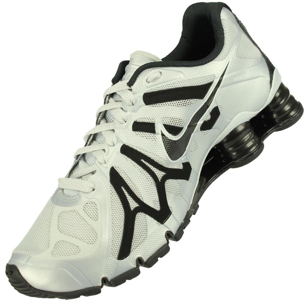 2938ca3cb Freecs Original Nike - Tênis Nike Shox Turbo+ 13 Masculino Branco Preto.