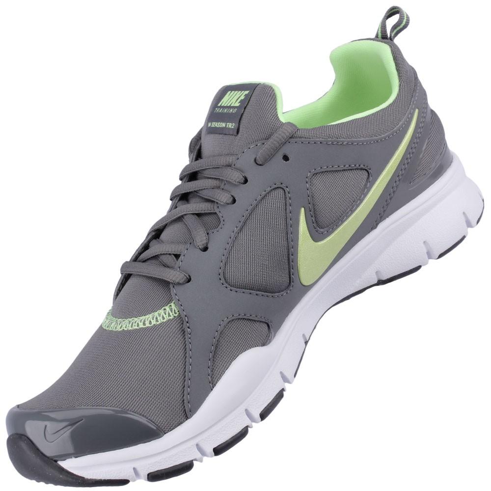 3b2aac650d Tênis Nike In-Season TR 2 Feminino Cinza Branco Verde Claro 525737-006