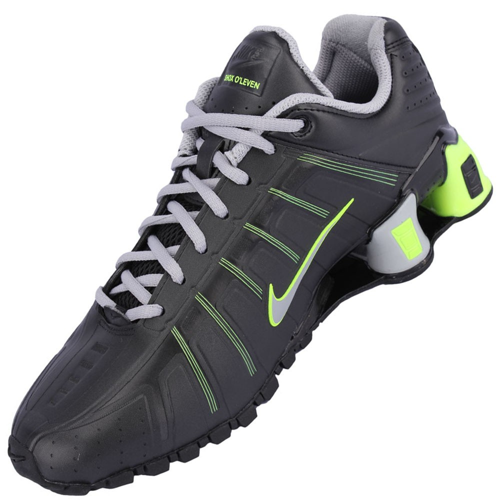 5ed7d092f Tênis Nike Shox O Leven Masculino Branco Vermelho Chumbo 429869-105