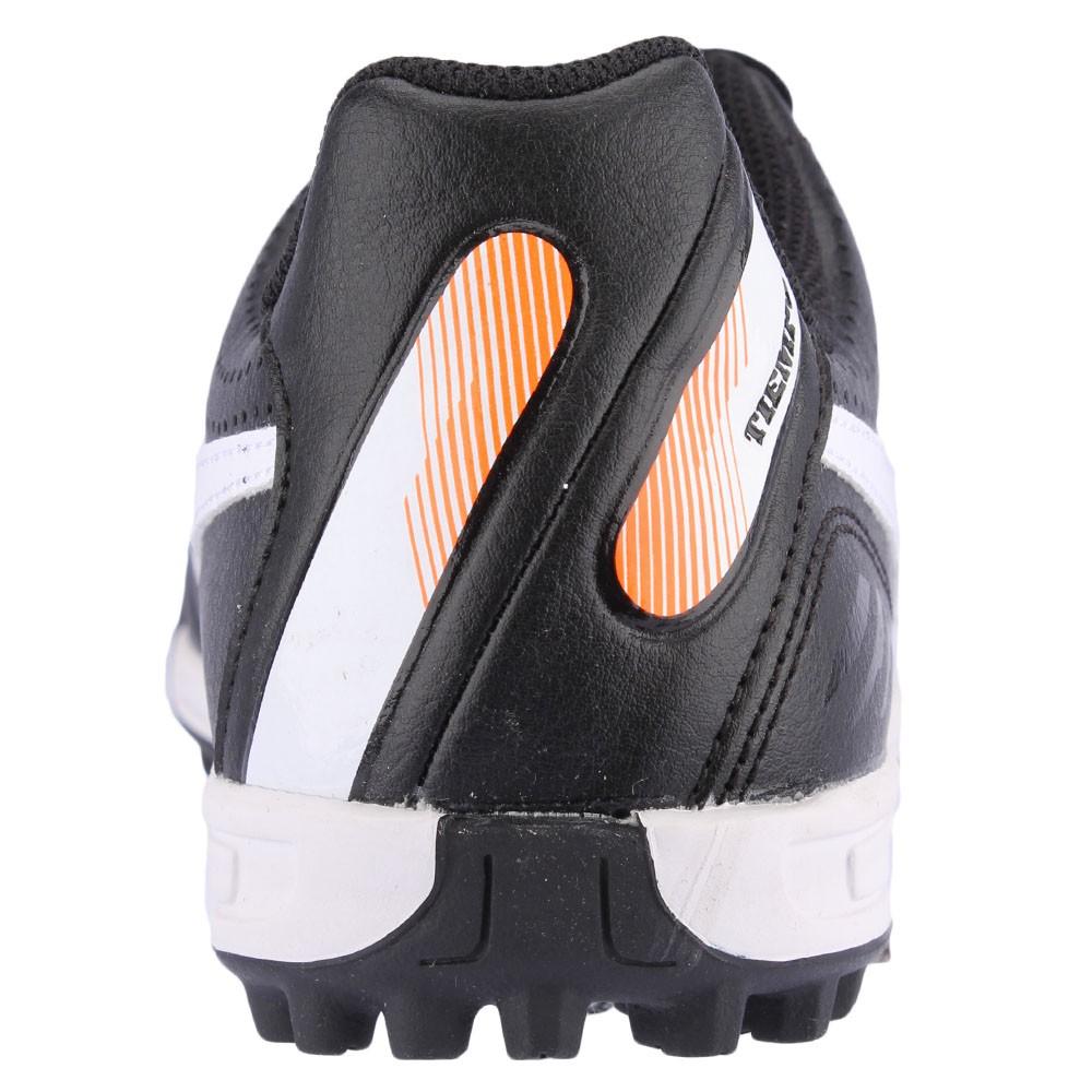 78472258ee Chuteira Society Nike Tiempo Natural 4 TF Juvenil Preto Branco ...