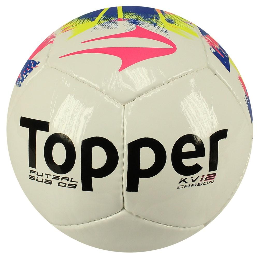 1d11cc5faf Bola Futsal Topper kv Carbon Sub9 2015