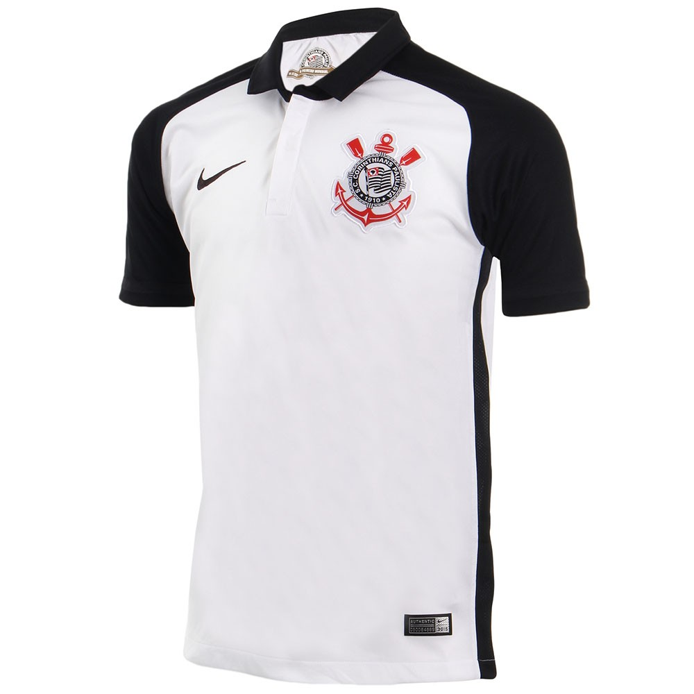 cf1999cd81 Camisa Nike Corinthians I 2015/2016 Torcedor N10