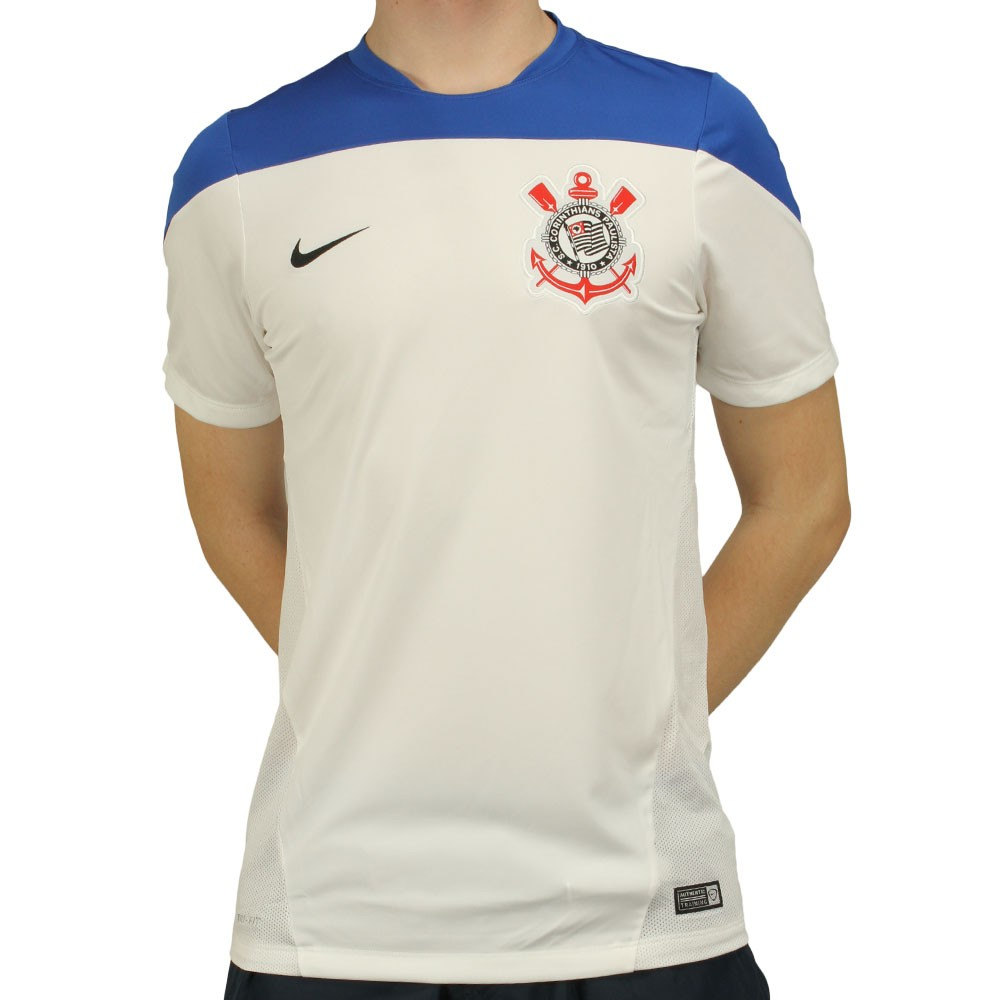 aaef8b516e2c4 Camisa Nike Corinthians Treino 2014