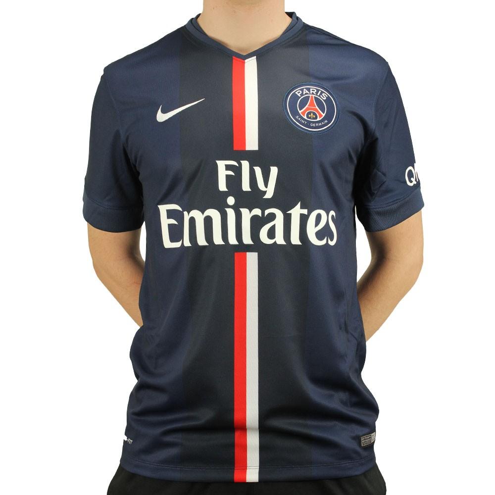 Camisa Nike Paris Saint Germain Home 2014 26a7ac89b2358