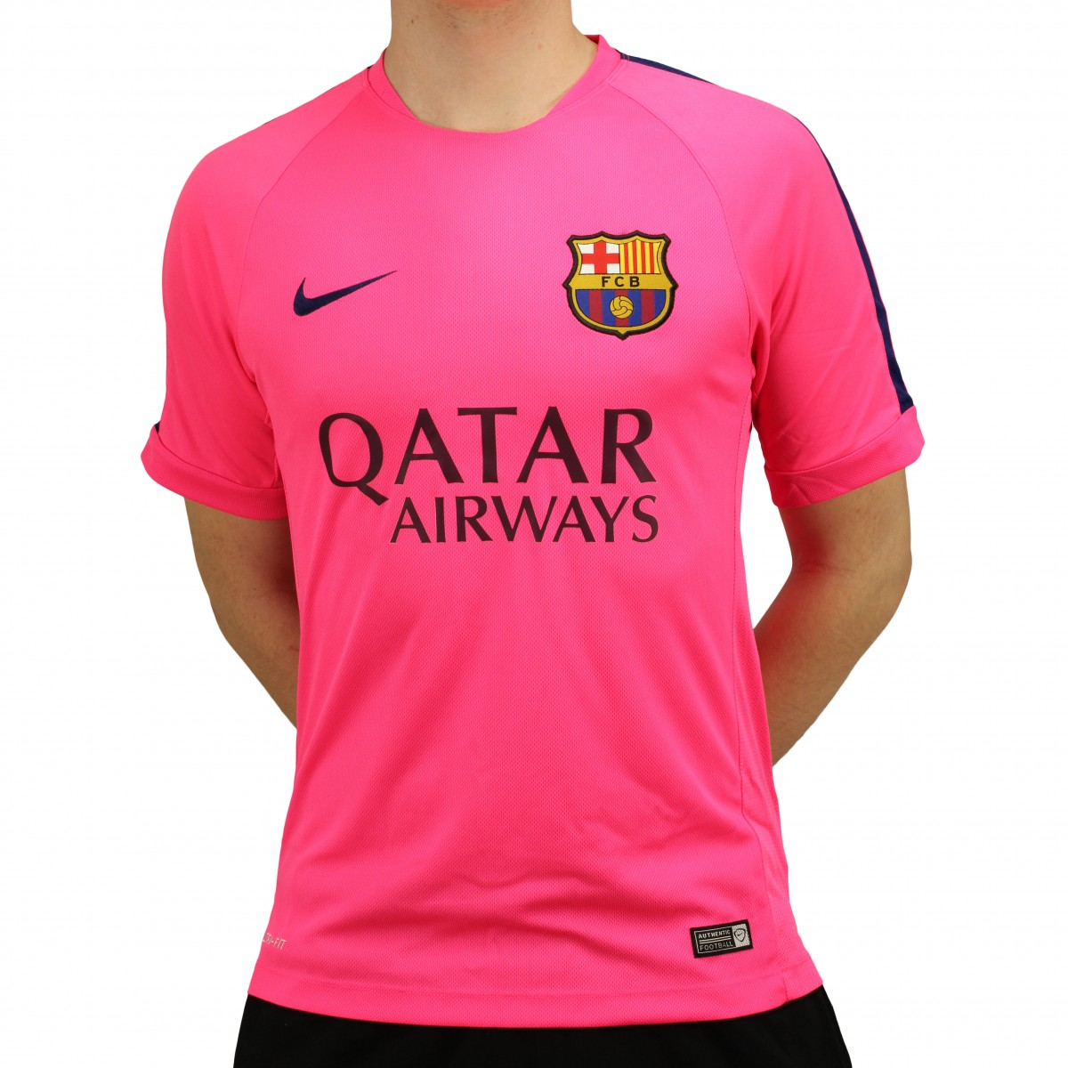 9f187b37051e6 Camisa Nike Barcelona Treino 2014