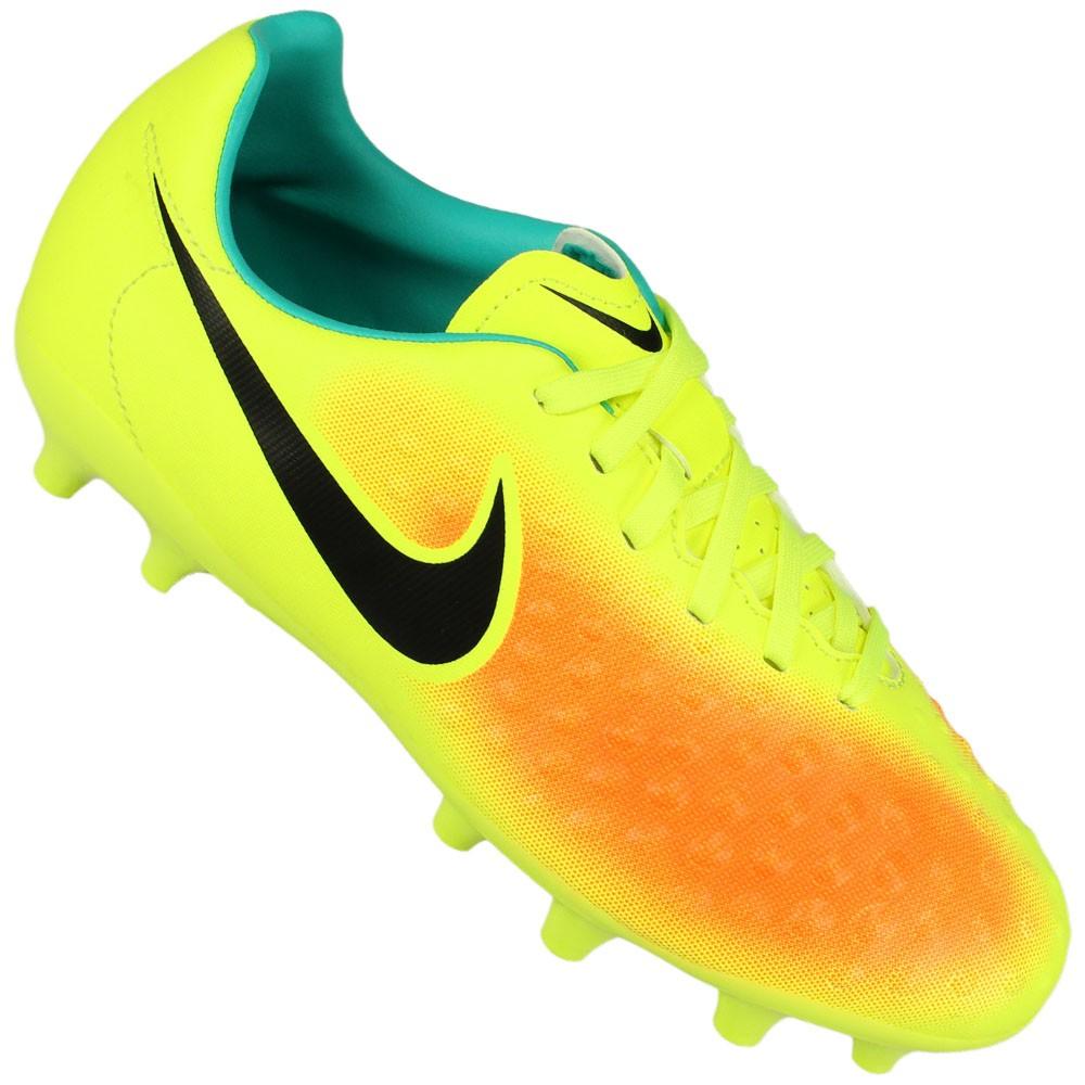 Chuteira Campo Nike Jr Magista Opus II Fg Juvenil 8de2566b43a28