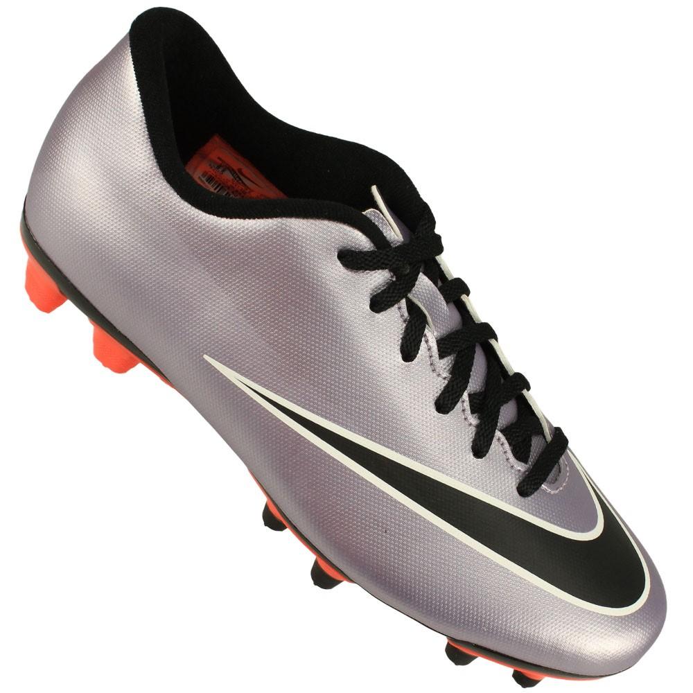 2e9535f763 Chuteira Campo Nike Mercurial Vortex II FG