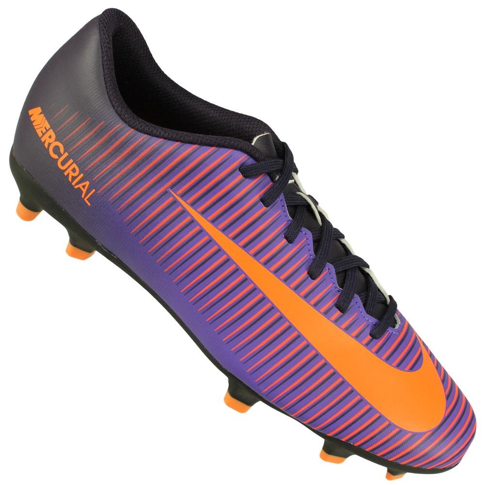 55a6b0e4ed5f9 Chuteira Campo Nike Mercurial Vortex III FG