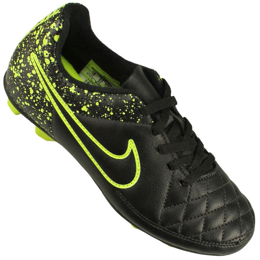 a4b45c78e9 Chuteira Campo Nike Tiempo Rio II FG-R Juvenil