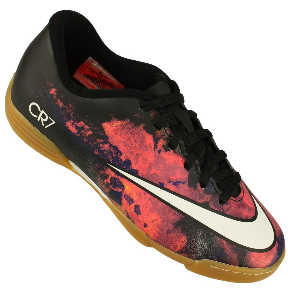 b051efc331 Chuteira Futsal Nike Mercurial Vortex II CR7 Juvenil