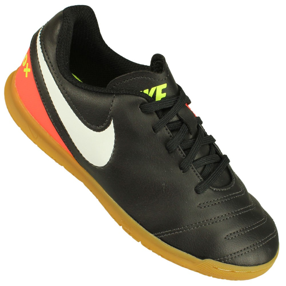 49a185b527 Chuteira Futsal Nike Tiempo Rio III IC Juvenil