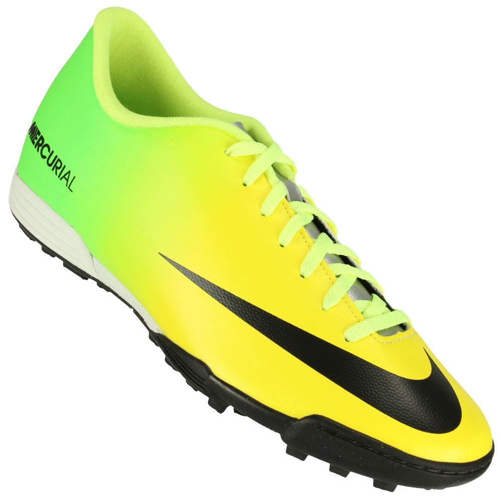 Chuteira Society Nike Mercurial Vortex TF 33c102c71fc98