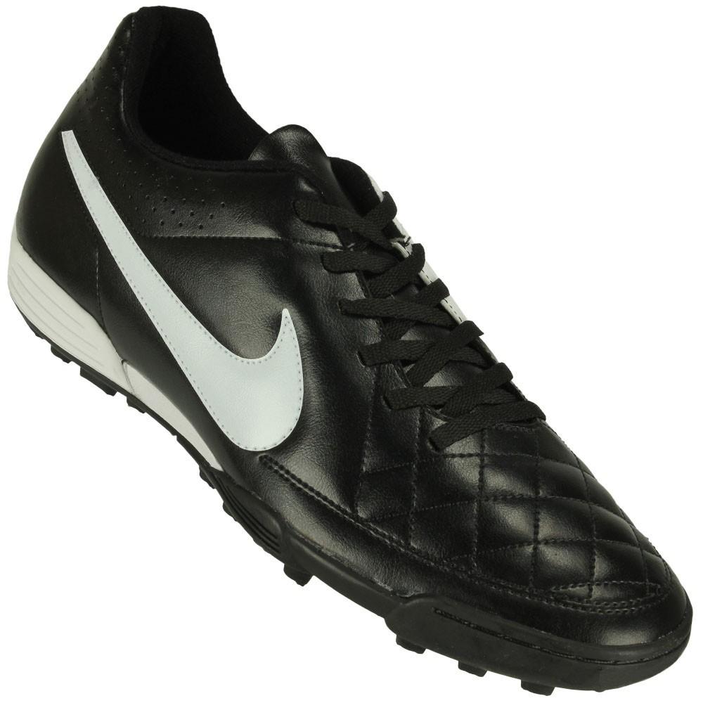 5f718cf179 Chuteira Society Nike Tiempo Rio II TF