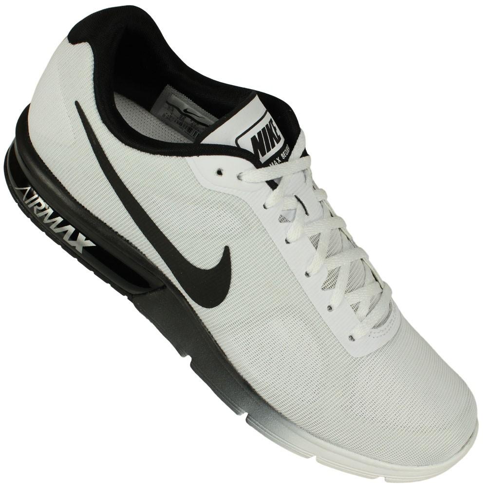 69d852e344 Tenis Nike Air Max Sequent Masculino Cinza Preto