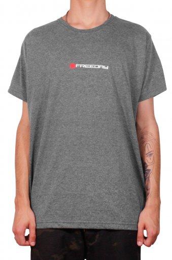 Camiseta Freeday Básica Cinza Escuro