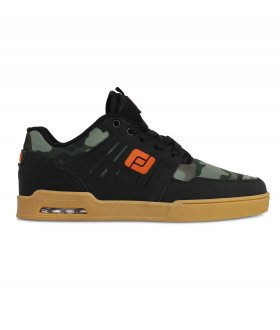 Tenis Freeday Gravity Preto/Camuflado/Natural