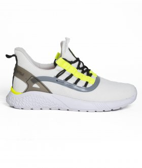 Imagem - Tenis Freeday Bio Branco/amarelo Neon/branco - 77007 cód:                          0010031060