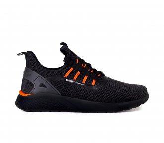 Imagem - Tenis Freeday Bio Preto/laranja Neon/preto - 77002.2  - 001003105991243