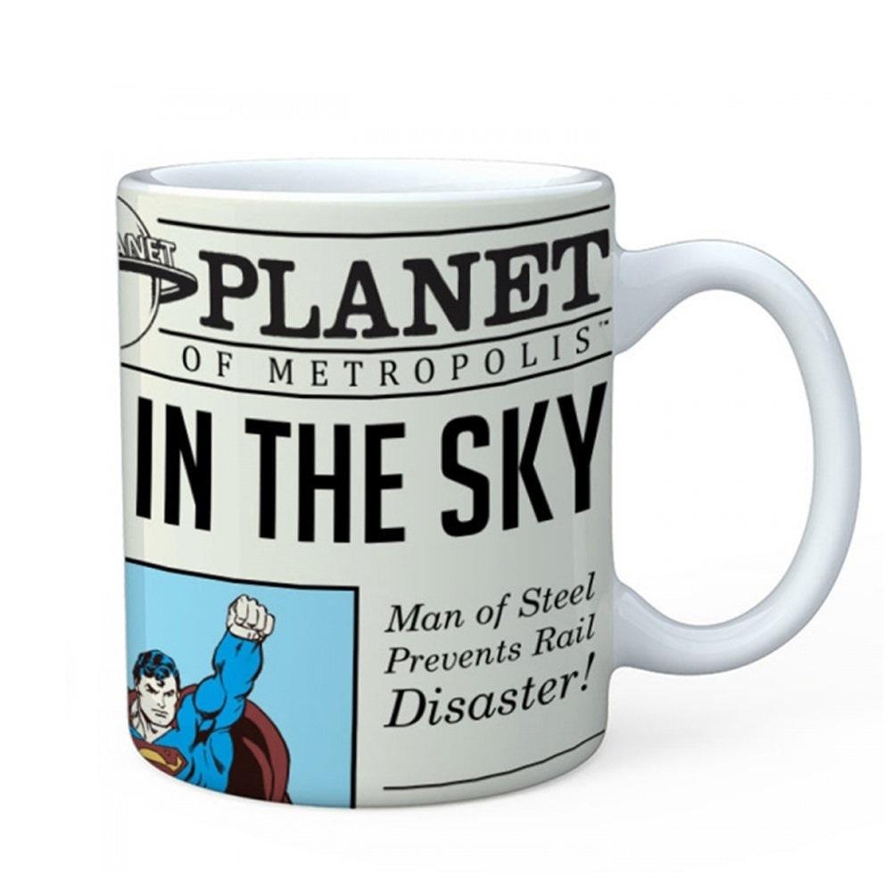 Caneca de Porcelana - Planeta Diário Super Homem DC Comics