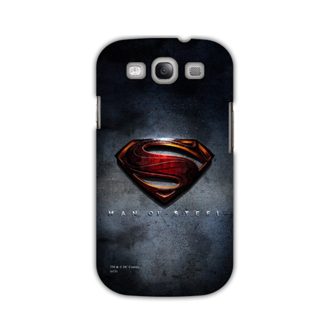 Capa Galaxy S3 - Man of Steel - Superman / Super-Homem
