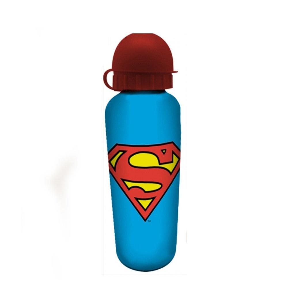 Squeeze de Alumínio Superman / Super-Homem Logo - DC Comics