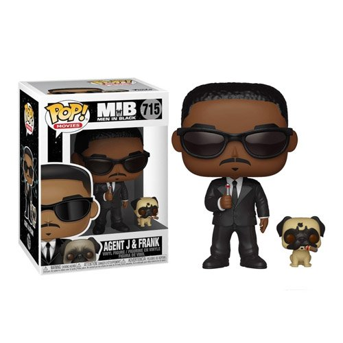 Agent J e Frank - Men in Black - Funko Pop Movies MIB Homens de Preto