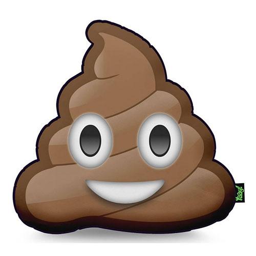 Almofada Emoji Cocô / Emoticon Cocozinho
