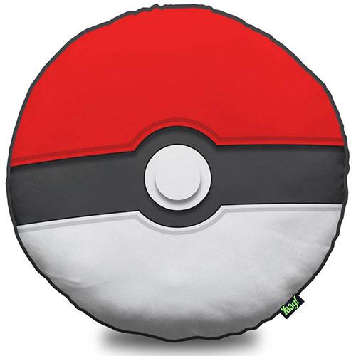 Almofada Pokebola / Pokéball - Inspirada em Pokémon