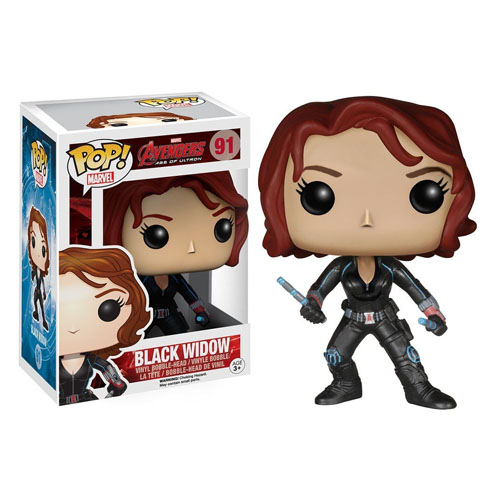 Black Widow / Viúva Negra - Funko Pop Avengers: Age of Ultron Marvel